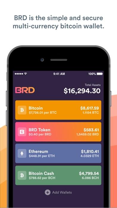 cancel BRD Bitcoin Wallet. Crypto BTC app subscription image 1