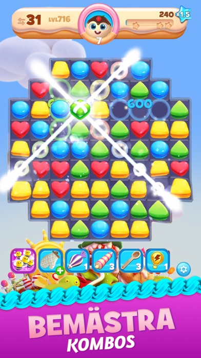 Cookie Jam Blast™ godis spel på PC