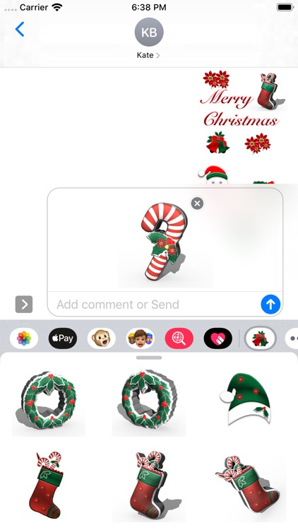 Happy Christmas Stickers screenshot-4