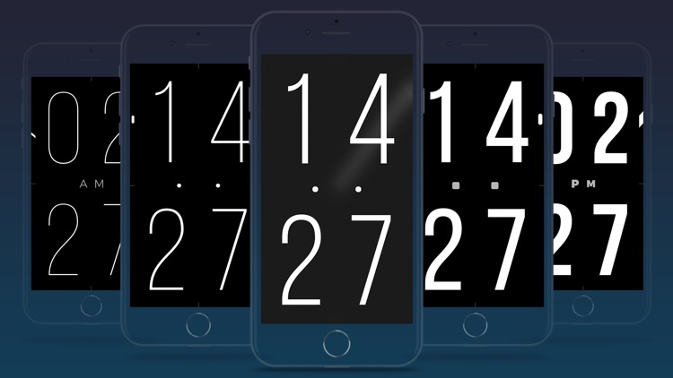 ClockPhone - big digital clock
