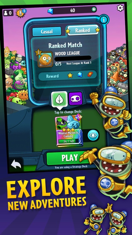 Plants vs. Zombies™ Heroes screenshot-3