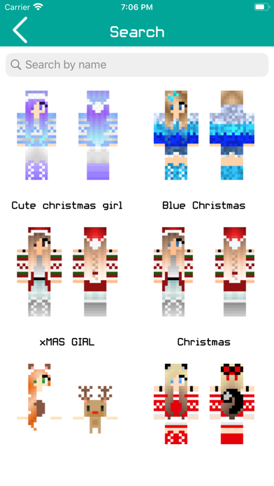 Girl Skins for Minecraft PE !!のおすすめ画像3