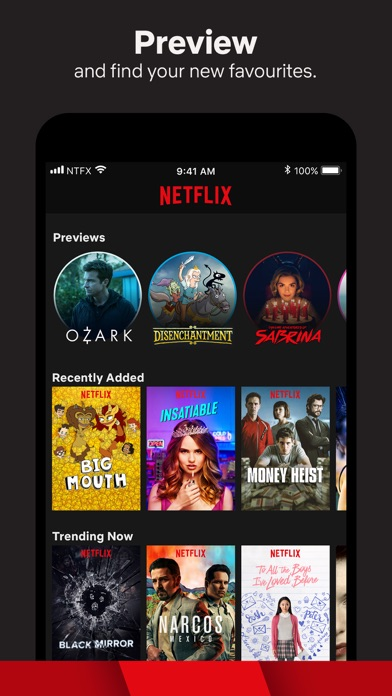 Screenshot for Netflix in Singapore App Store