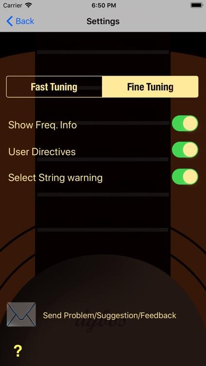 Dybos Guitar Tuner screenshot-5