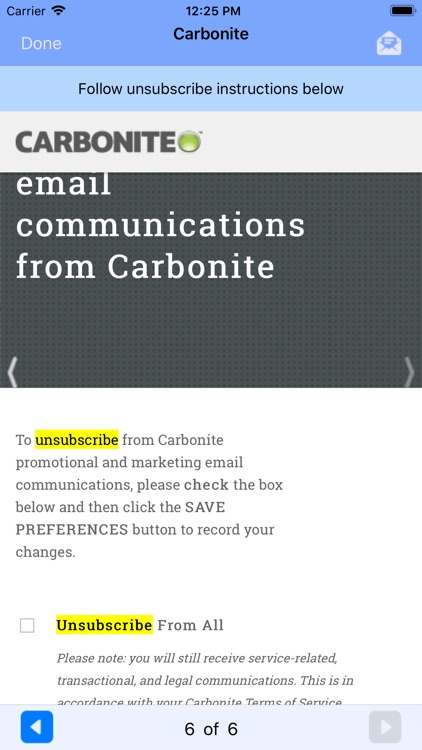 UnSubscribe screenshot-6