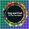 Veg and Fruits Tic Tac Toe