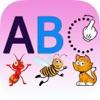 ABCアルファベットを書く