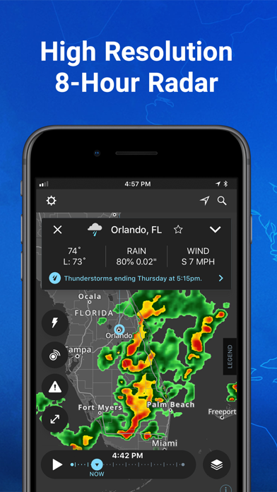 Storm - Weather radar & maps Screenshot
