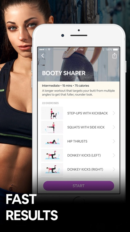 Butt Workout by 7M | Booty App