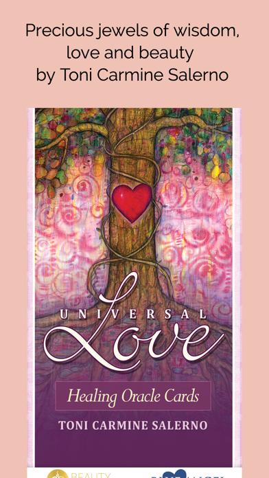 Universal Love Healing Oracle screenshot 1