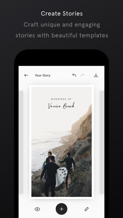 Unfold — Create Stories screenshot-3