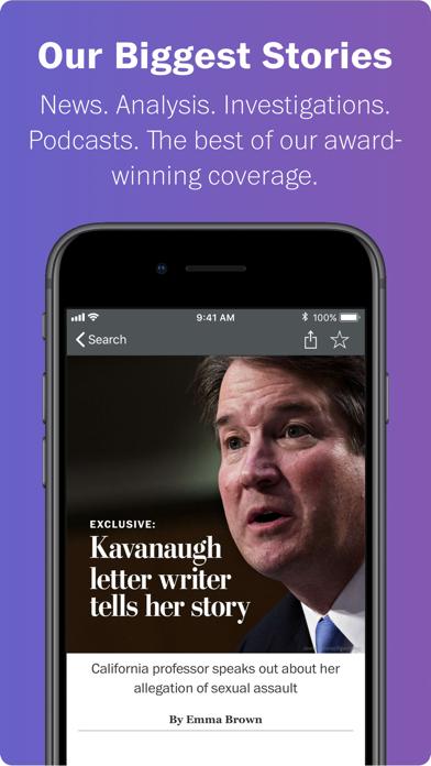 Washington Post Select Screenshot