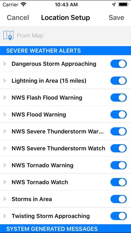Storm Tracker NOW screenshot-3