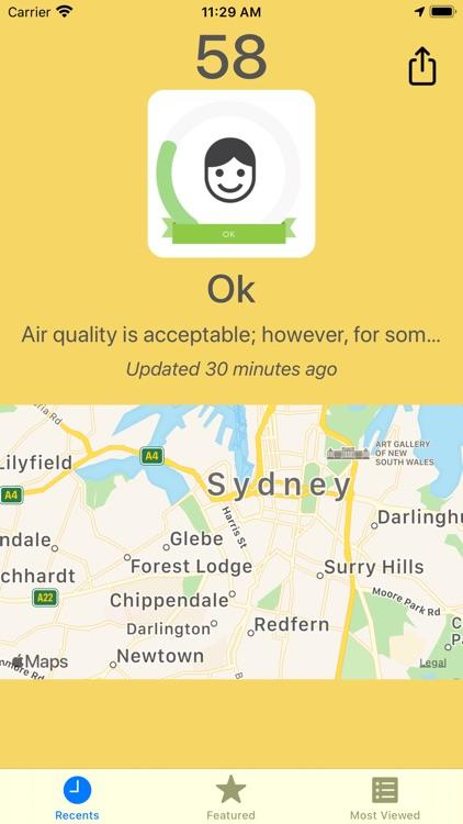 Track Air Quality - PM2.5