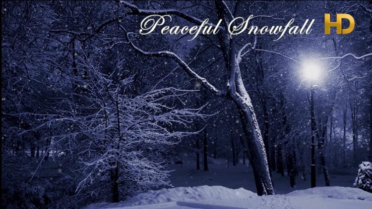 Peaceful Snowfall HD