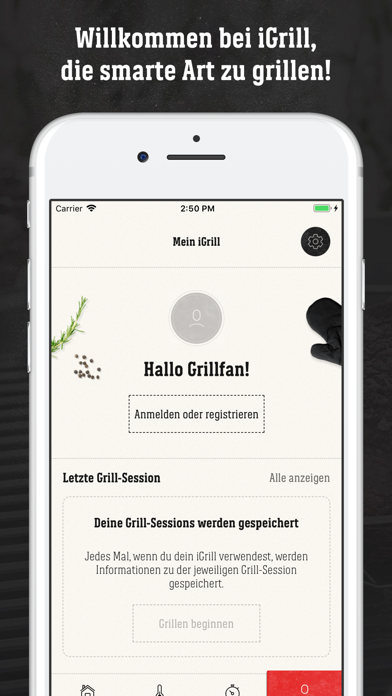 Screenshot for Weber® iGrill® in Germany App Store
