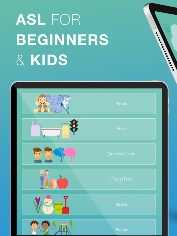 ASL Kids - Sign Language-ipad-0