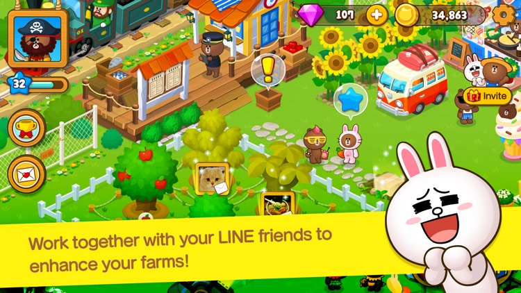 LINE BROWN FARM screenshot-4