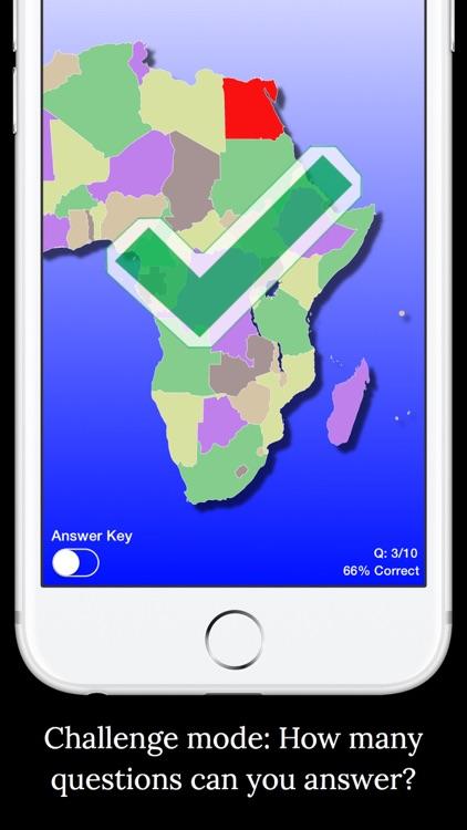 World Map Challenge! Geography screenshot-4