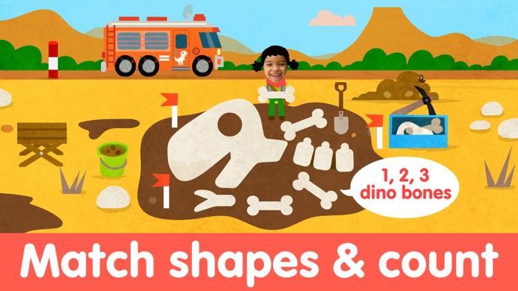 Dino Puzzle Kids Dinosaur Game screenshot-3