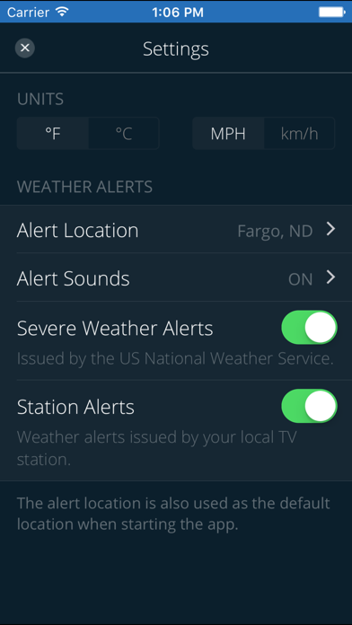 Vnl Weather review screenshots