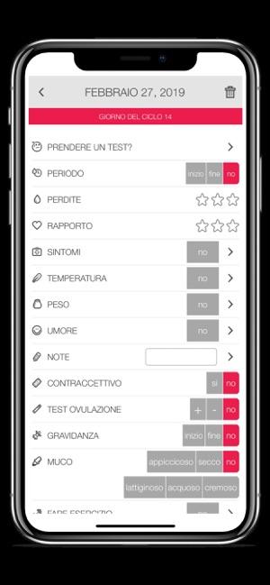 Calendario Ovulazione Preciso.Ladytimer Calendario Mestruale Su App Store