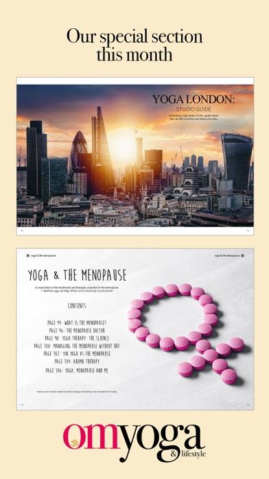 OM Yoga Magazine screenshot four