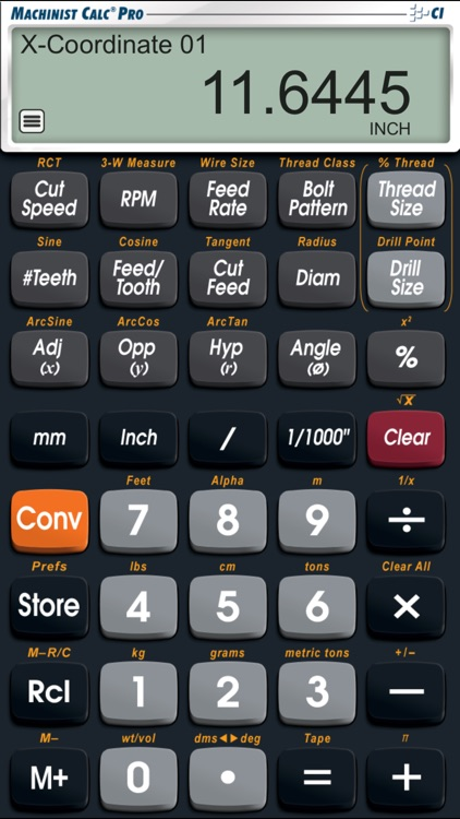 Machinist Calc Pro screenshot-3