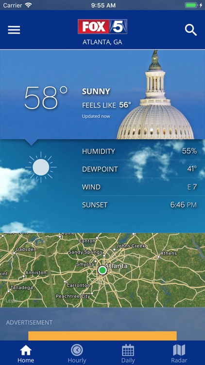 DC Weather Radar and Alerts