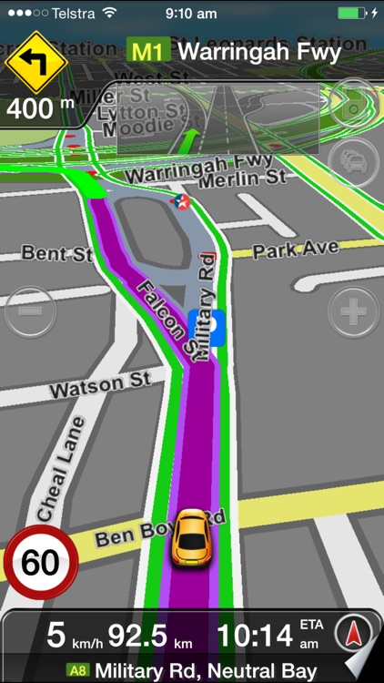 MetroView GPS Navigation screenshot-1