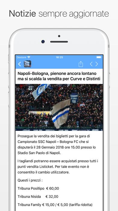 Screenshot #1 pour TuttoNapoli.net