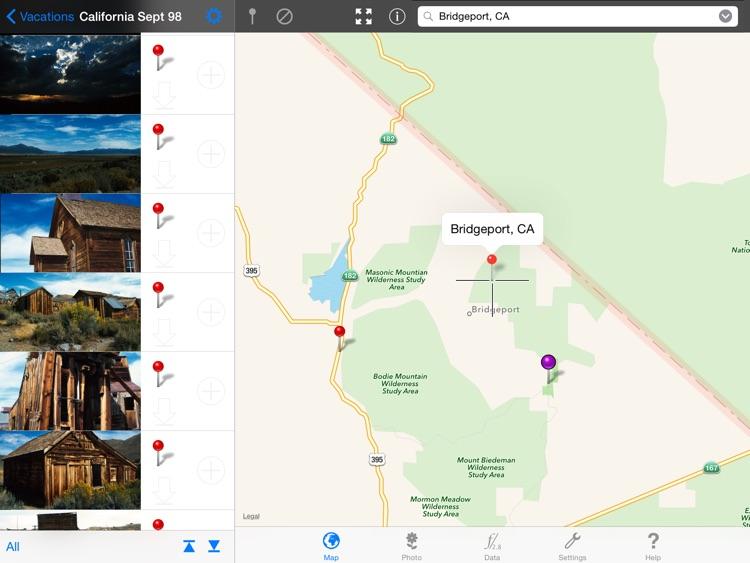 PinApp - easy geotagging