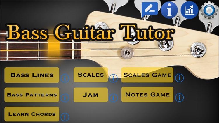 Bass Guitar Tutor