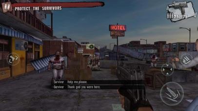 Screenshot for Zombie Frontier 3: Sniper FPS in Brazil App Store