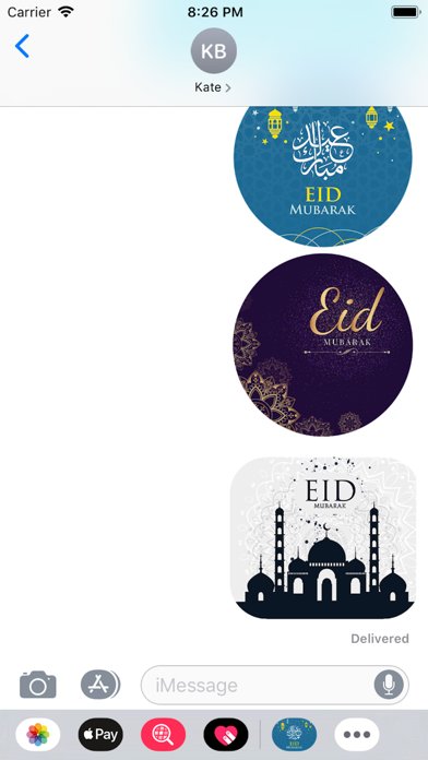 Eid Sticker 2019 screenshot #3