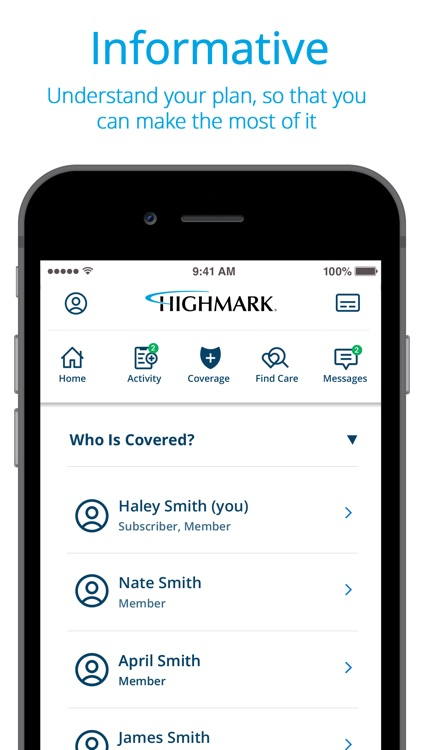 Highmark Plan