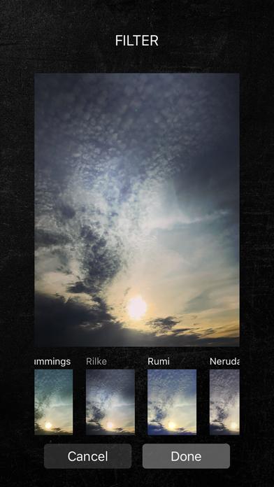 Poetics review screenshots