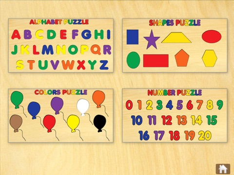 20 Children's Wooden Puzzles - náhled