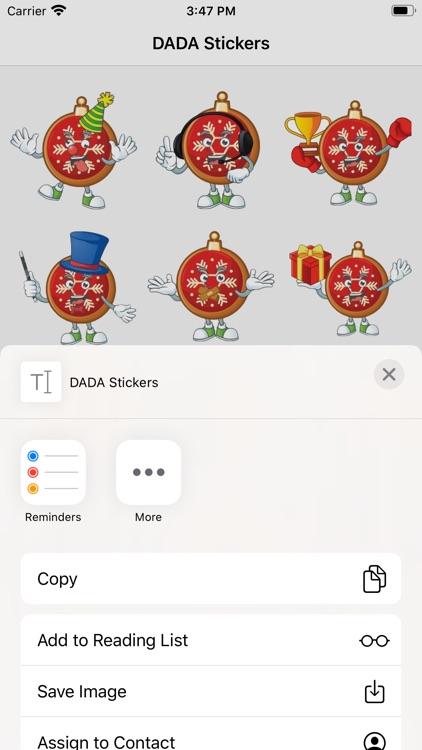 DADA Stickers
