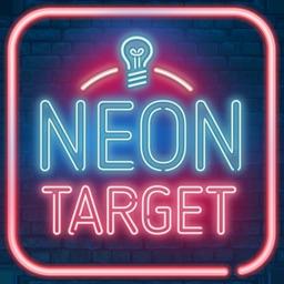Neon Target - IQ Game