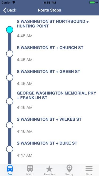 DC Metro & Bus: Navigator Map screenshot-3