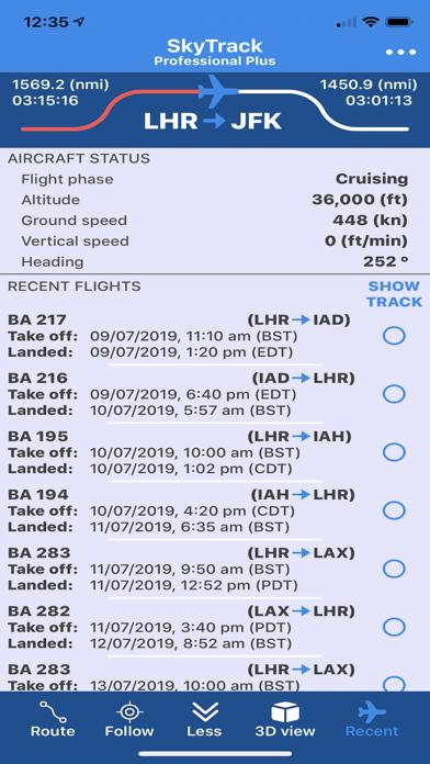 SkyTrack Flight tracker aware-8