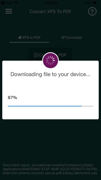 XPSからPDFに変換 ScreenShot2