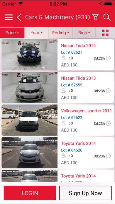 Screenshot #2 pour Emirates Auction