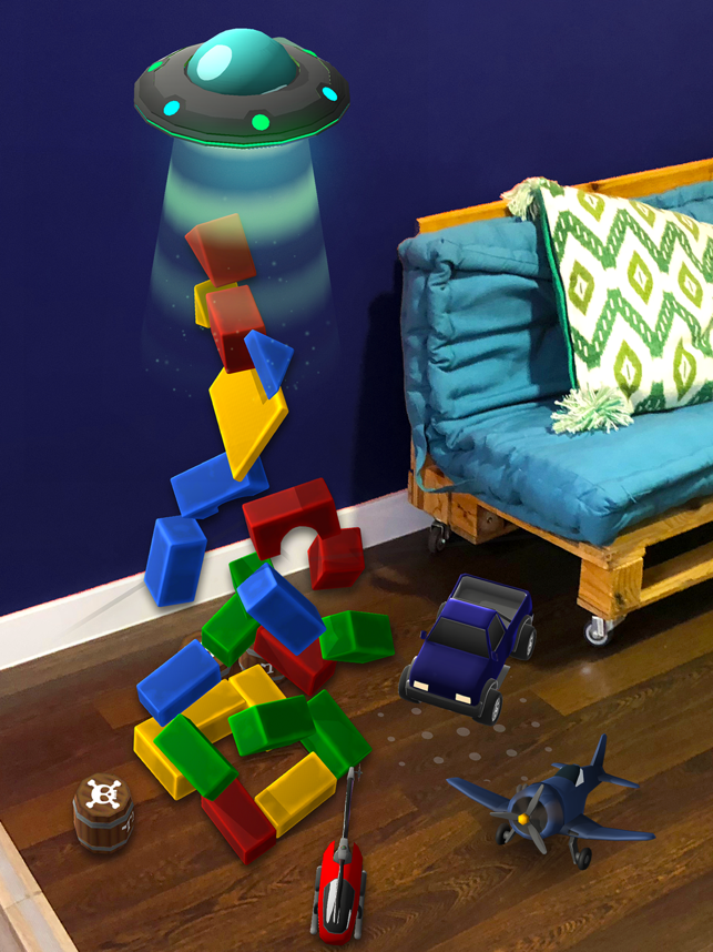 Playground AR: Physics Sandbox Screenshot