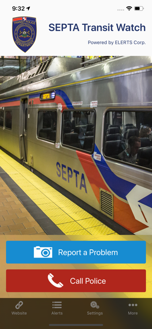 ‎SEPTA Transit Watch Screenshot