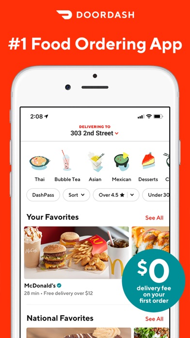 DoorDash - Food Delivery screenshot