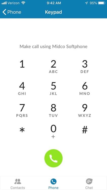 Midco Softphone screenshot-3