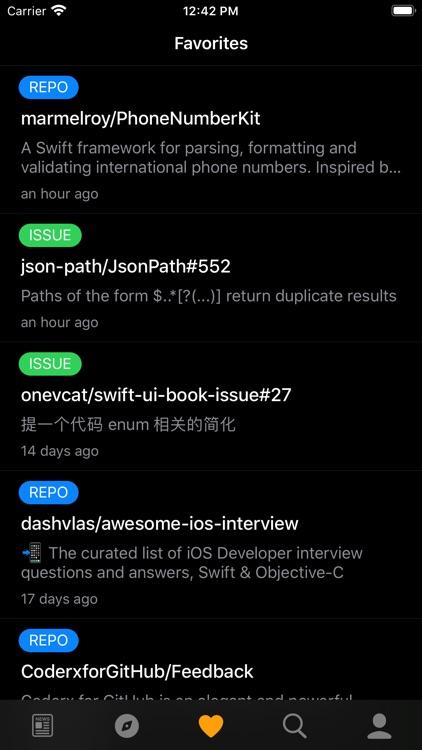 Coderx for GitHub screenshot-5