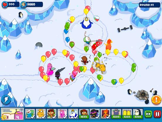 Bloons Adventure Time TD iPad app afbeelding 1